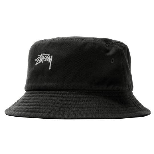 laatu sävyt nauhoittaa sisään Stussy Stussy Stock Bucket Hat - Black