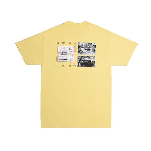 Alltimers Alltimers Guide To Life Tee - Banana