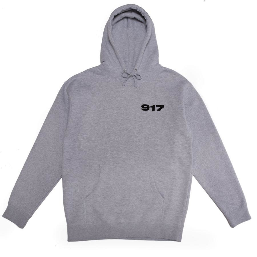 Call Me 917 917 Bad Baby Hood - Heather Grey