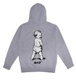 Call Me 917 917 Bad Baby Hood - Heather Grey