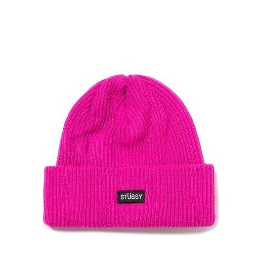 Stussy Stussy Patch Watch Cap Beanie - Pink
