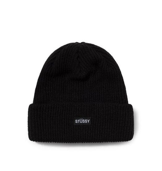 Stussy Stussy Patch Watch Cap Beanie - Black