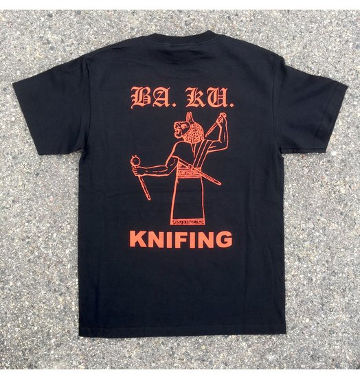 BA.KU. BA.KU. Knifing Tee - Black/Red