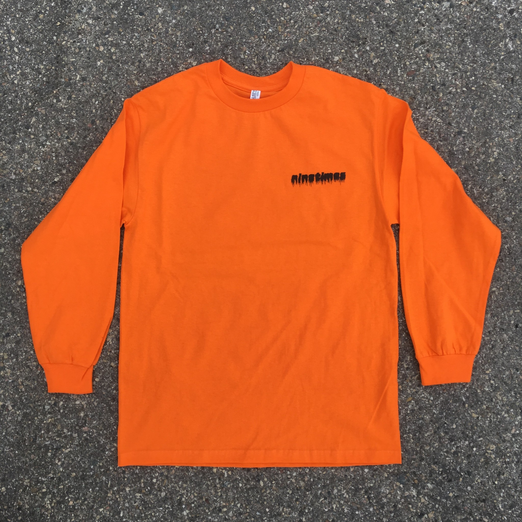 Ninetimes Ninetimes 999 LS T-Shirt Orange