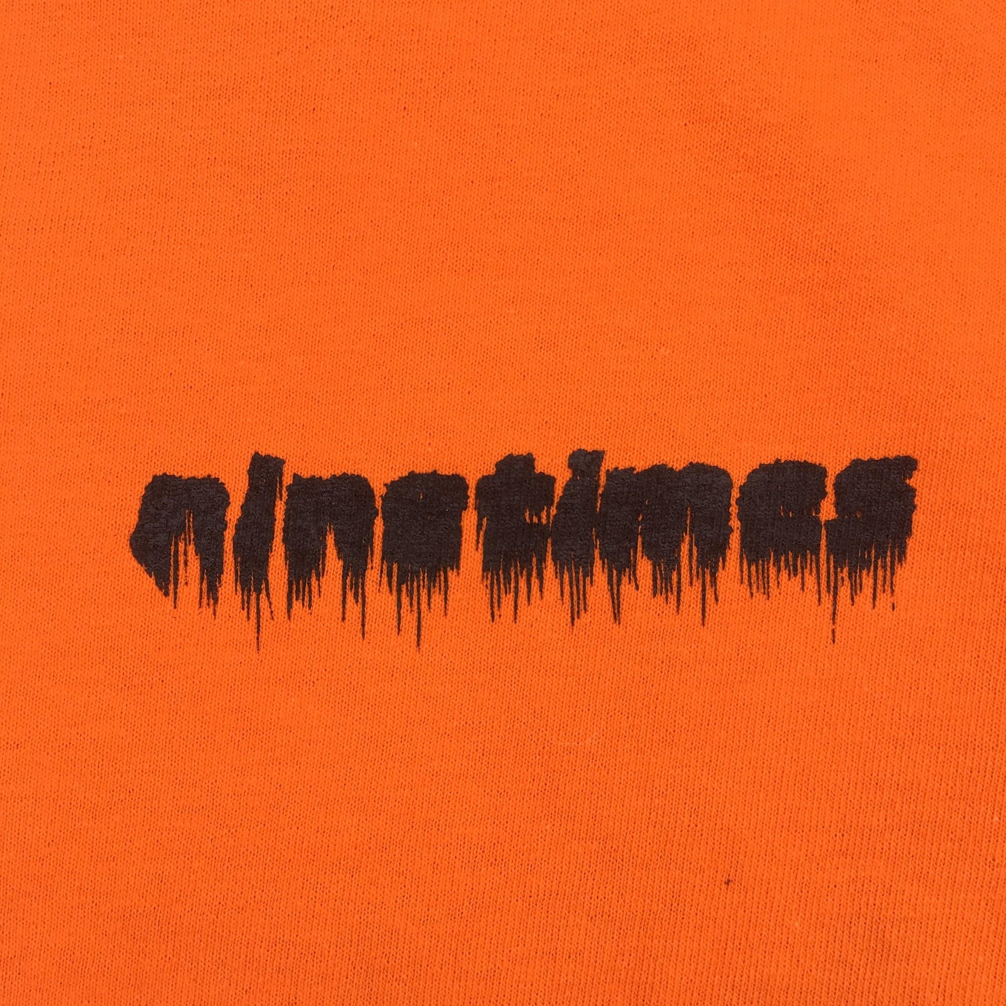 Ninetimes Ninetimes 999 Tee - Orange/Black
