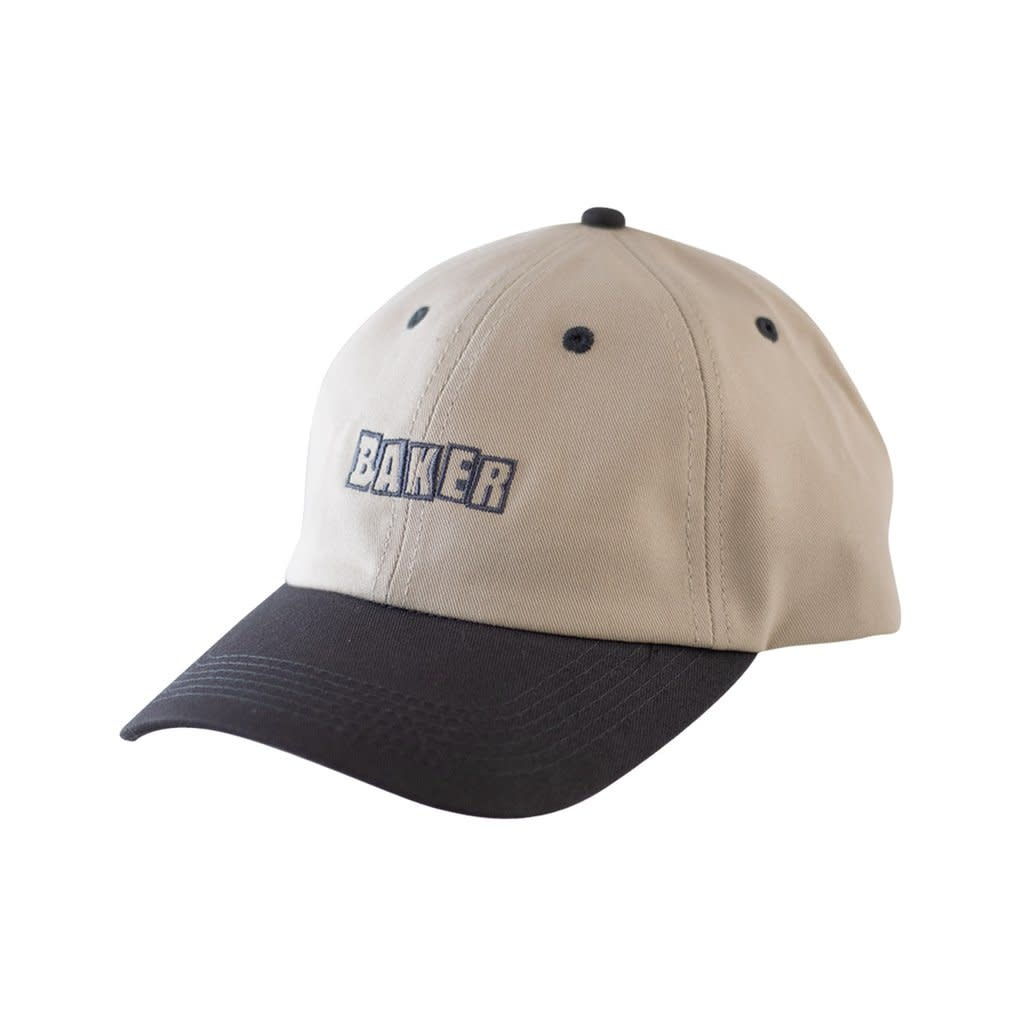 Baker Baker Brand Logo Strapback - Tan/Brown