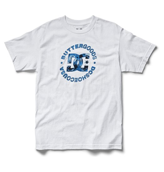 DC DC X Butter Goods Props Tee - Bright White