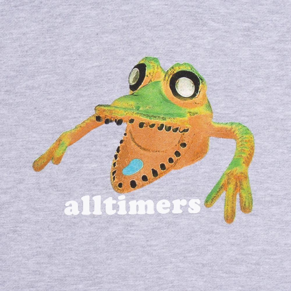 Alltimers Alltimers Popped Monsta Hoodie - Heather Grey