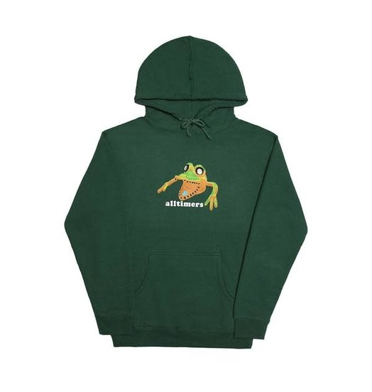 Alltimers Alltimers Popped Monsta Hoodie - Forest Green