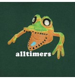 Alltimers Alltimers Popped Monsta Hoodie - Forest Green