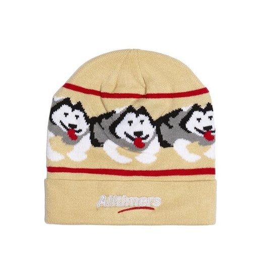 Alltimers Alltimers Snow Pup Beanie - Tan