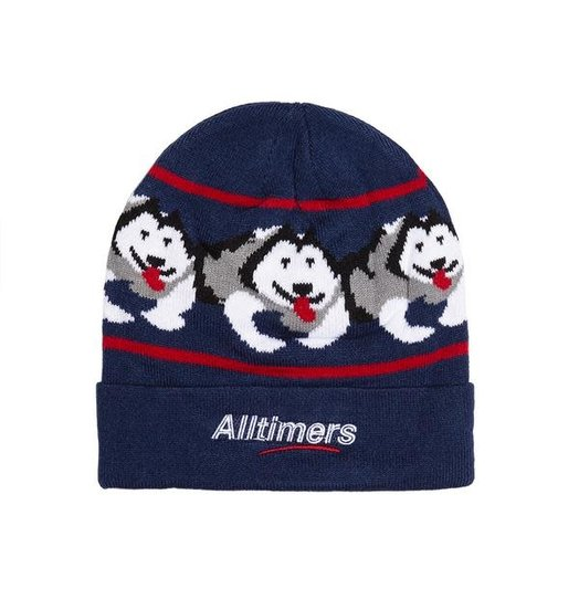 Alltimers Alltimers Snow Pup Beanie - Navy