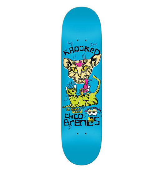 Krooked Krooked Chico Brenes Lightning Thunder Guest Board - 8.25