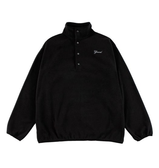 Grand Collection Grand Micro Fleece Pullover - Black