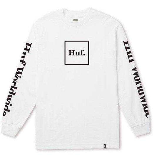 HUF Huf Domestic Longsleeve - White