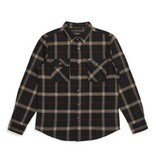 Brixton Brixton Bowery Flannel - Black/Ivory