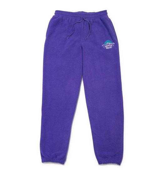 Quartersnacks Quartersnacks Mountain Fleece Sweatpants - Purple