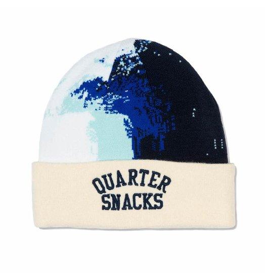 Quartersnacks Quartersnacks Wave Beanie - Cream