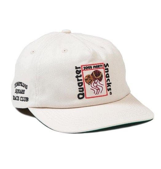 Quartersnacks Quartersnacks Party Cap - Off White