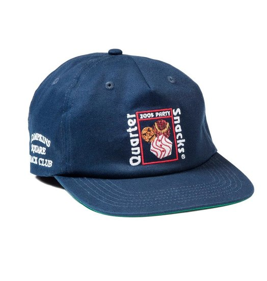 Quartersnacks Quartersnacks Party Cap - Navy