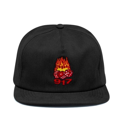 Call Me 917 Call Me 917 Hot Dice Hat - Black