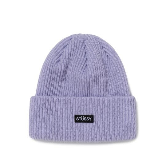 Stussy Stussy Small Patch Watchcap Beanie - Lavender