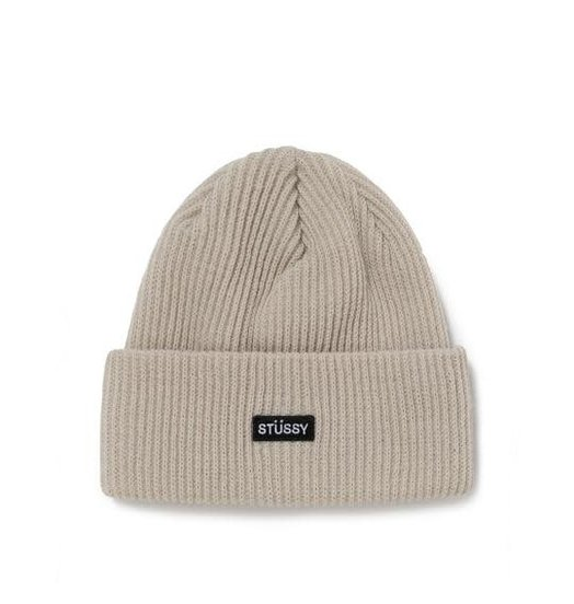 Stussy Stussy Small Patch Watchcap Beanie - Off White