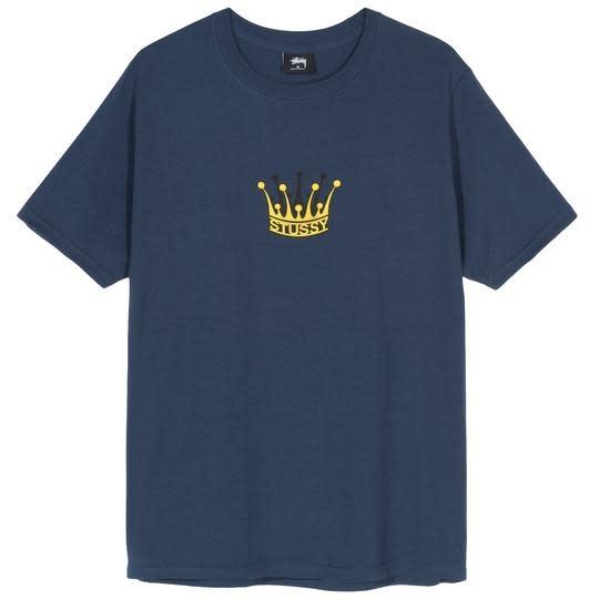 Stussy Stussy Royal Crown Tee - Navy