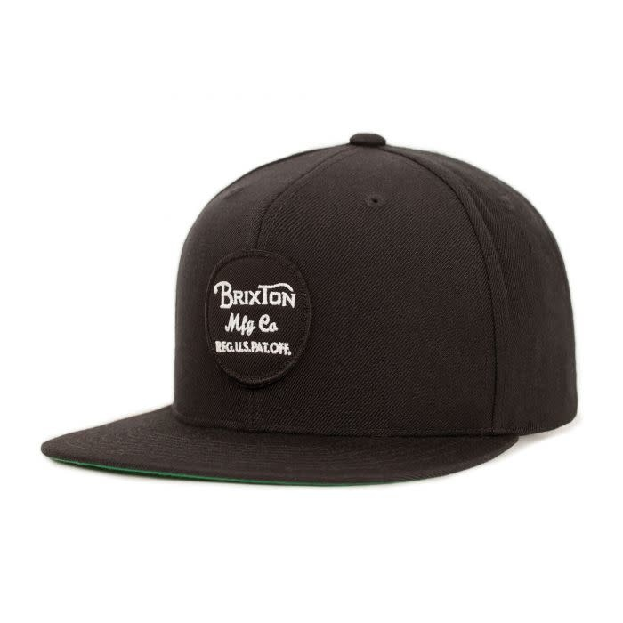 Brixton Brixton Wheeler Snapback - Black