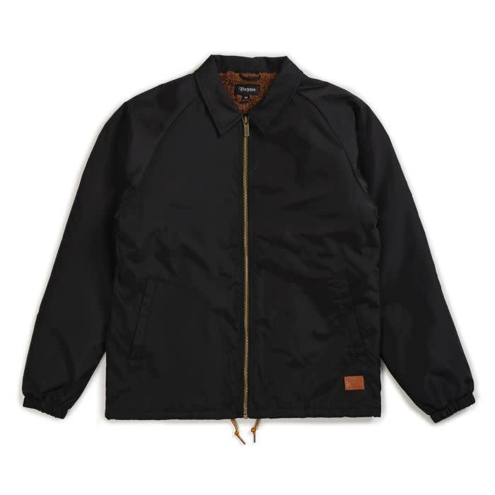 Brixton Brixton Claxton Collar Sherpa Jacket - Black