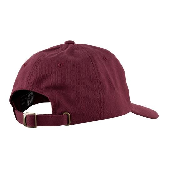 Welcome Welcome Sprawl Peached Twill Dad Hat - Maroon