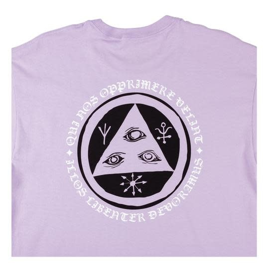 Welcome Welcome Latin Tali Premium Tee - Lavender