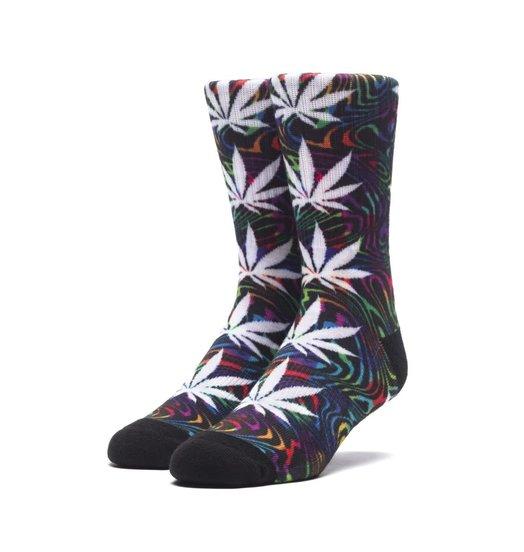 HUF Huf Good Trip Plantlife Sock - Black