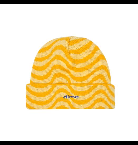 Dime Dime Wave Beanie - Yellow
