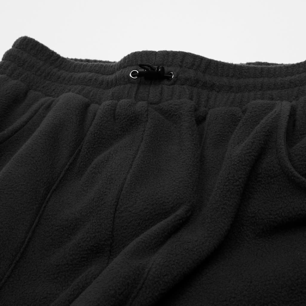 Dime Dime Fleece Round Cargo Pants - Black