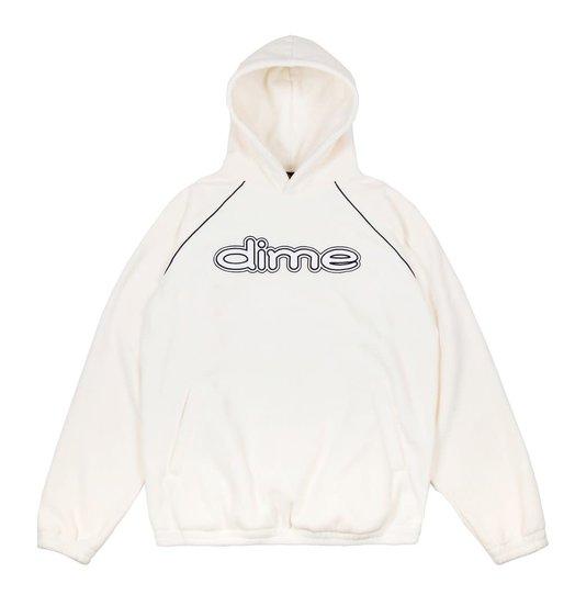 Dime DIme Fleece Hoodie - Cream