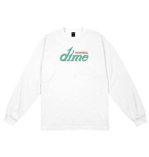 Dime Dime Hotel Longsleeve - White