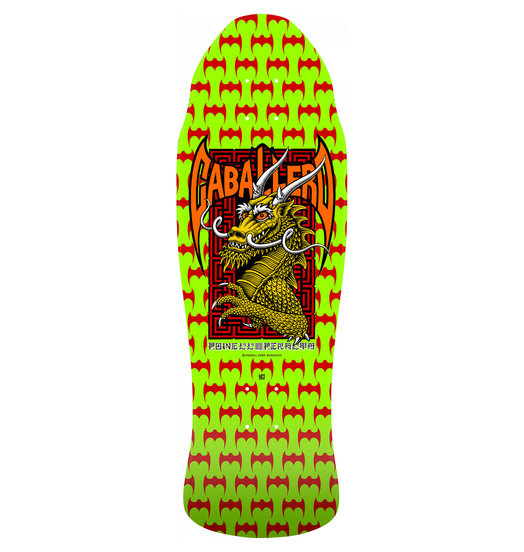 Powell-Peralta Powell Peralta Cab Street Dragon Reissue - Lime Green