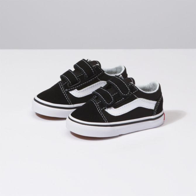 Vans Vans Toddler Old Skool V - Black/True White