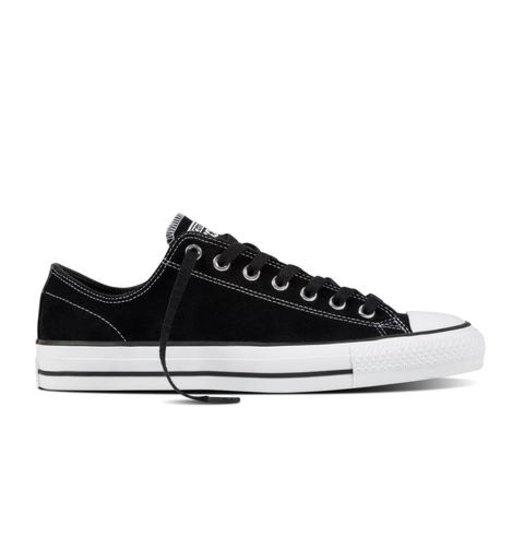 Converse Converse CTAS Low Suede - Black/Black/White