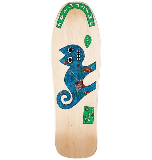 New Deal New Deal Ed Templeton Cat Deck Natural - 9.75