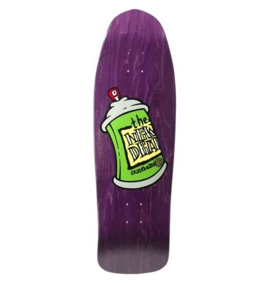 New Deal New Deal Spray Can Deck Purple - 9.75