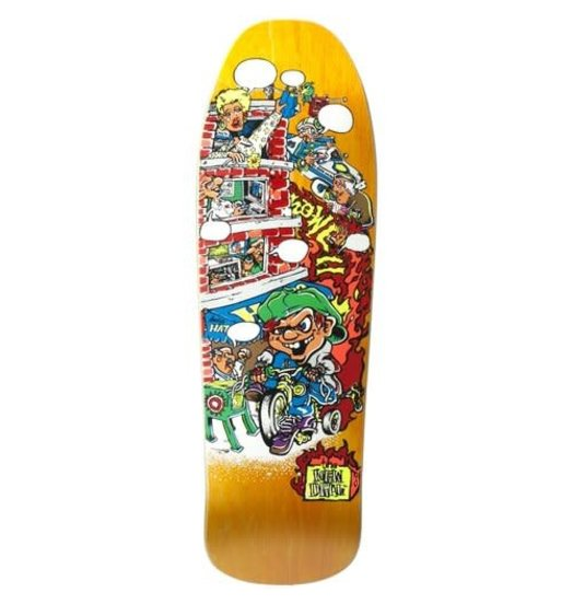 New Deal New Deal Howell Tricycle Kid Deck Orange - 9.625