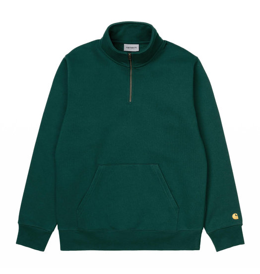 Carhartt WIP Carhartt WIP Chase Highneck Sweat Dark Fir