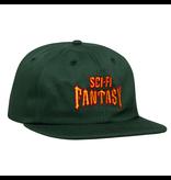 Sci-Fi Fantasy Sci-Fi Fantasy Biker Hat - Green/Red/Gold