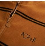 Polar Polar Striped Fleece Pullover 2.0 - Caramel