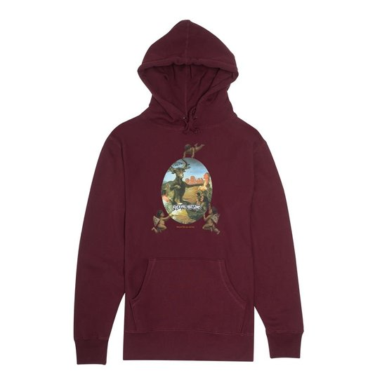 Fucking Awesome Fucking Awesome Sinners Hoodie - Maroon