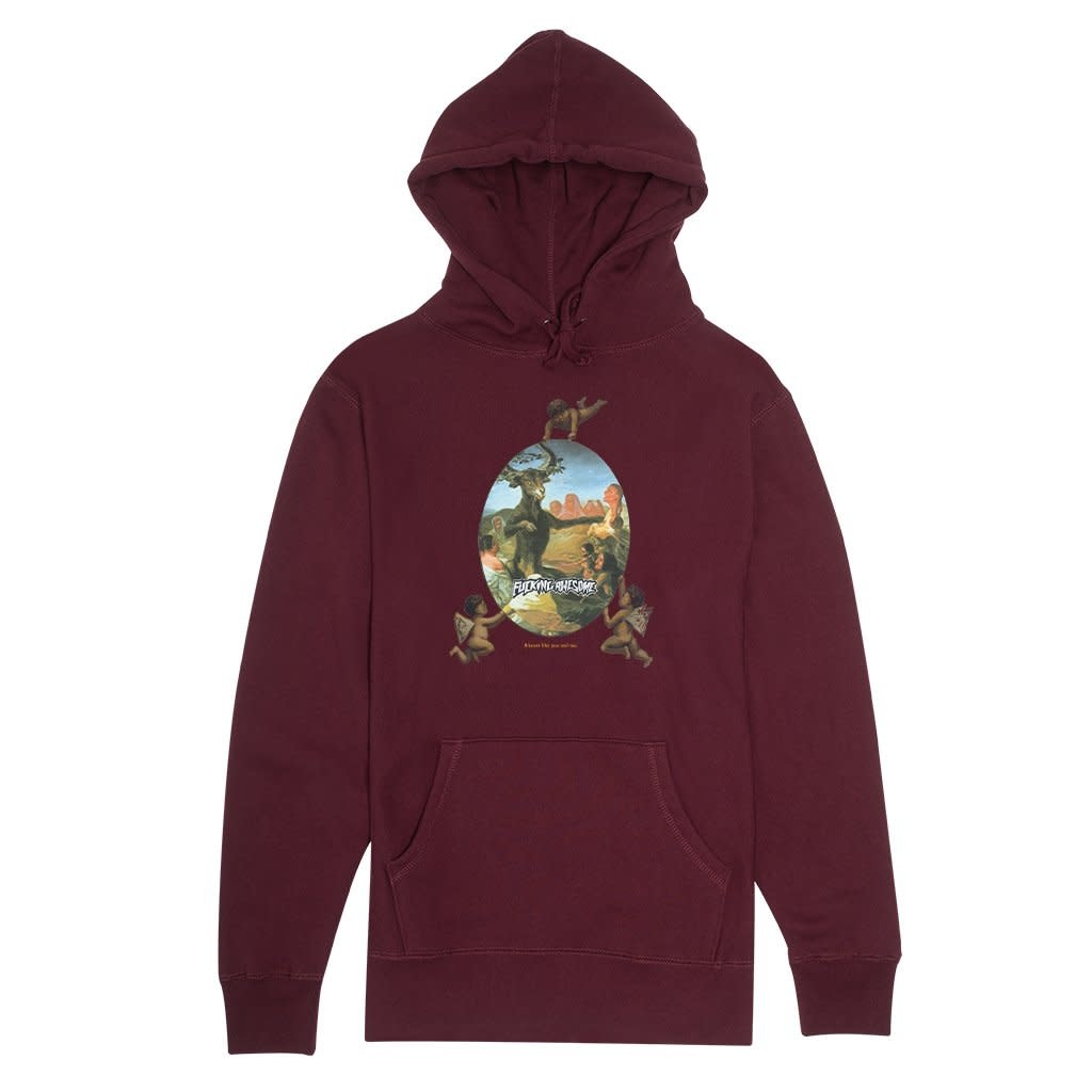 Fucking Awesome Copy of Fucking Awesome Ambulance Hoodie - Heather Grey