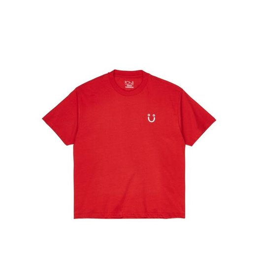 Polar Polar Happy Tee - Red