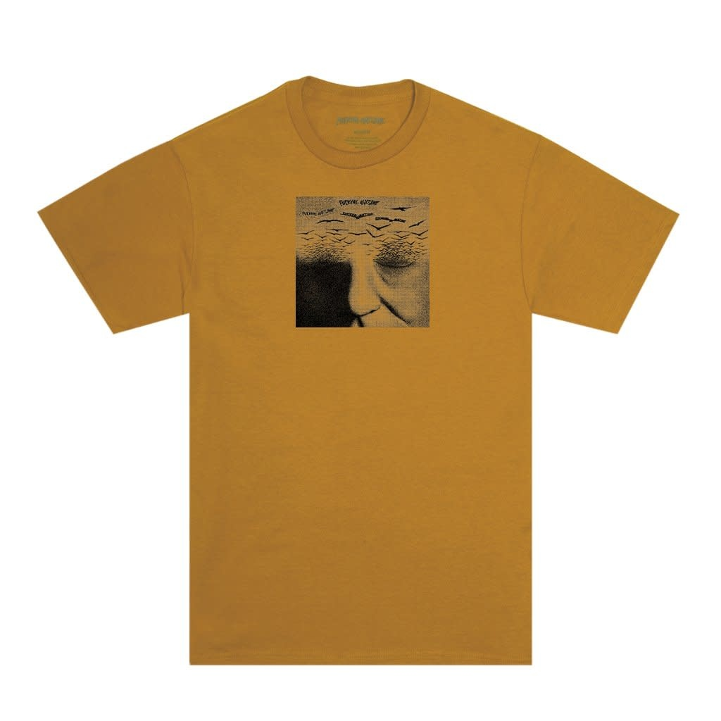 Fucking Awesome Fucking Awesome Birds Tee - Pigment-Dyed Monarch
